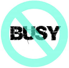 breaking busy