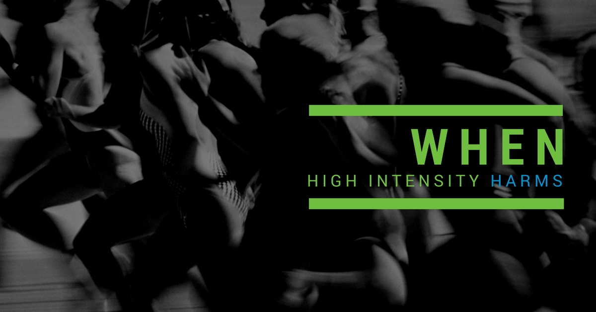 When High Intensity Harms